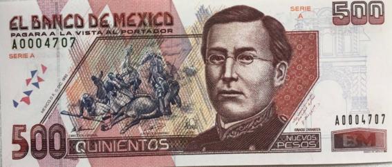 nuevo billete de 500 pesos mexicanos 3