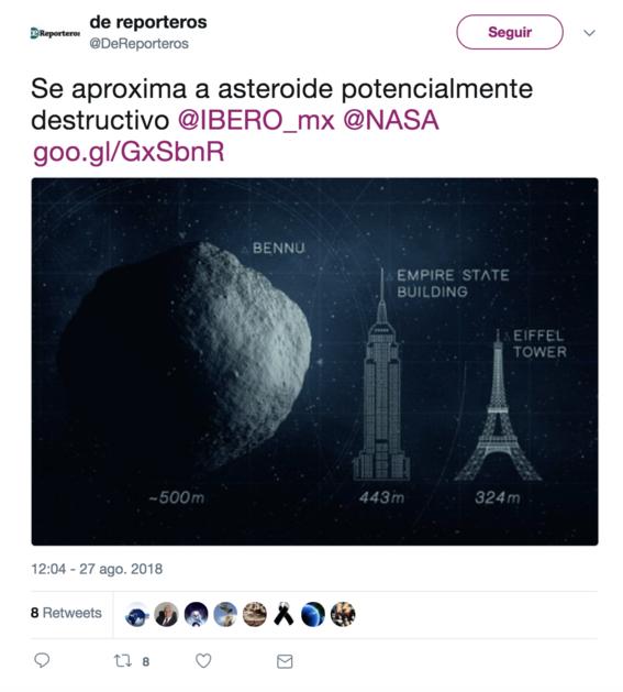 asteroide enorme se aproxima a la tierra es peligro 2