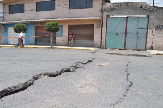 hundimiento del suelo es riesgo geologico 2