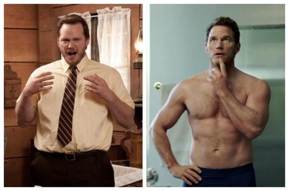 fotos de famosos que eran gordos y adelgazaron 2