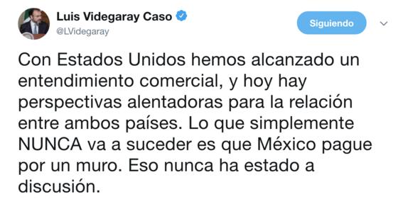 trump pide que mexico construya el muro 2