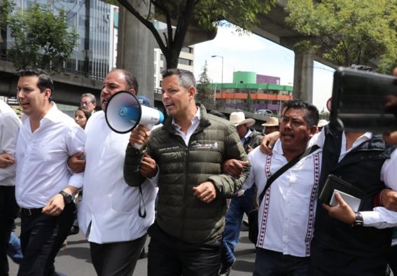 alejandro murat mezcaleros protestan en cdmx por mezcal 1