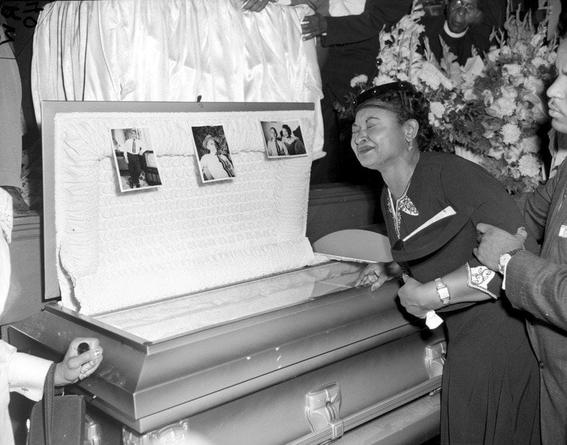 emmett till funeral pictures civil rights movement rosa parks 2