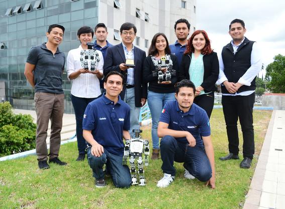 estudiantes mexicanos ganan concurso de robotica en taiwan 1