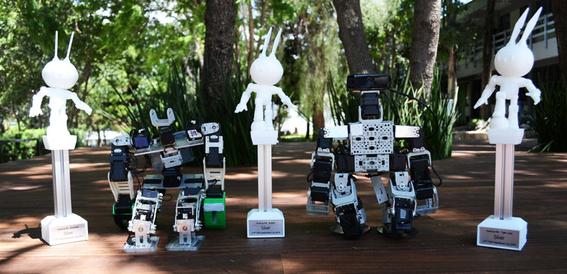 estudiantes mexicanos ganan concurso de robotica en taiwan 2