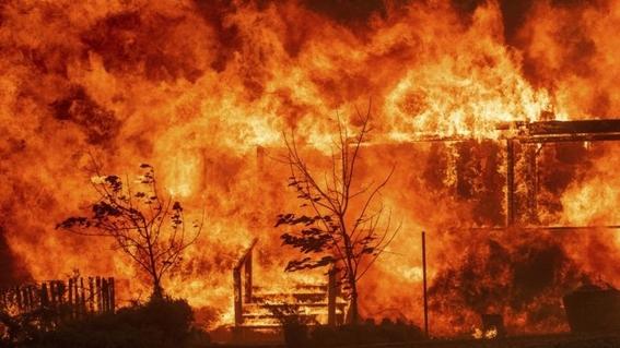 imagen de la nasa muestra incendios del mundo 1
