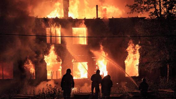 imagen de la nasa muestra incendios del mundo 2