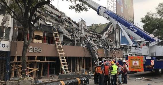 muertos en sismo 19 de septiembre 1