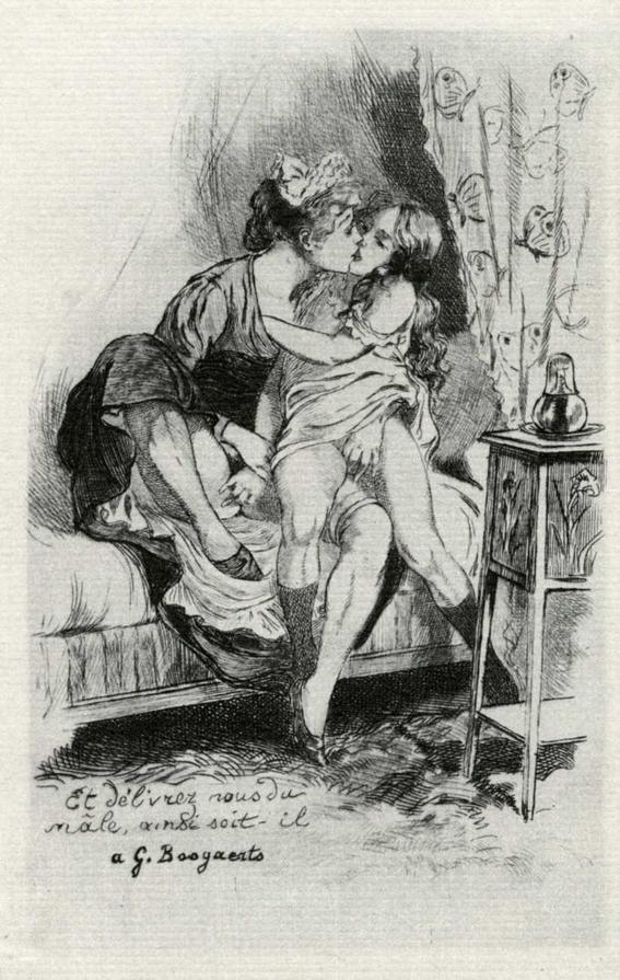 ilustraciones eroticas del siglo xx que la iglesia catolica oculto 16