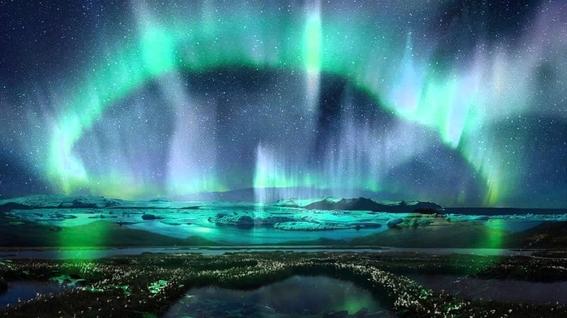 auroras boreales de saturno 3