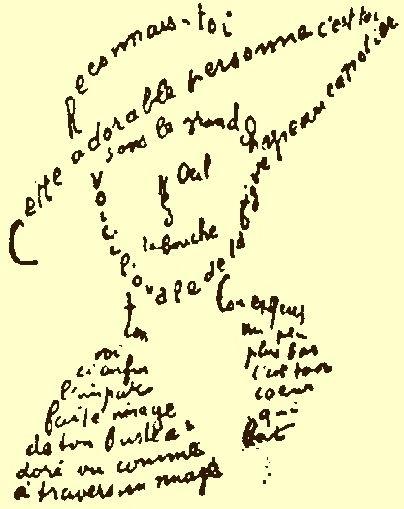 como hacer un caligrama 2
