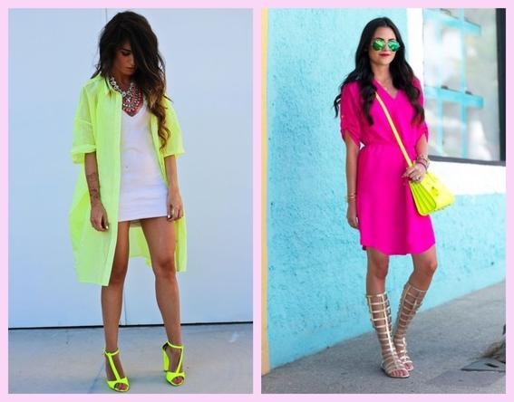 outfits neon que puedes llevar sin importar tu tono de piel 2