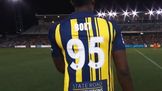 usain bolt debuta como futbolista en australia 1