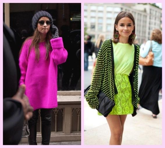outfits neon que puedes llevar sin importar tu tono de piel 5