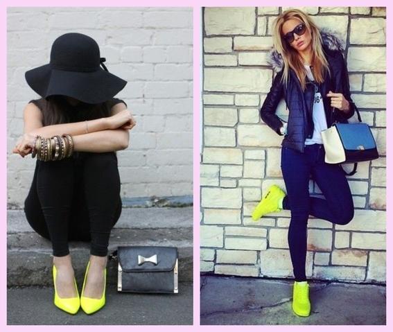 outfits neon que puedes llevar sin importar tu tono de piel 7