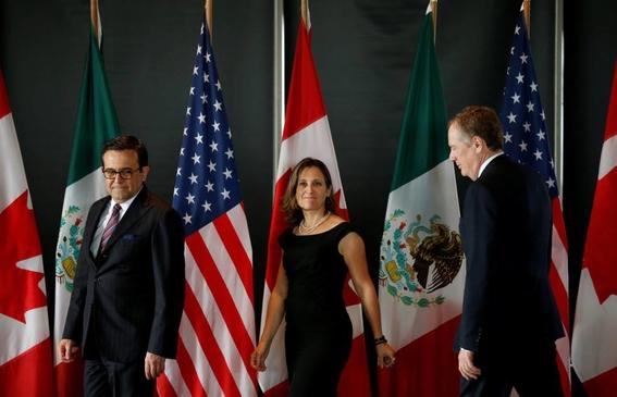 estados unidos y canada concluyen sin exito negociaciones tlcan 2