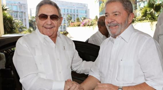 cuba y venezuela dan apoyo a lula da silva 2