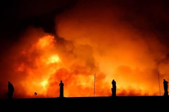 incendio consume el museo nacional de brasil 3