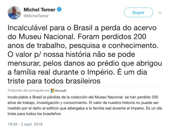 incendio del museo nacional de brasil las piezas perdidas 1