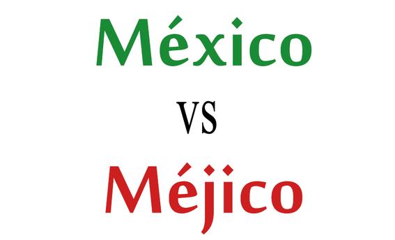 mexico se escribe con x y no con j 1