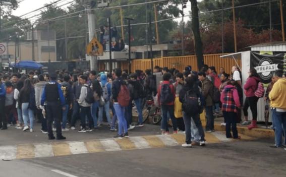 huelga cch azcapotzalco desata pelea en ciudad universitaria 1