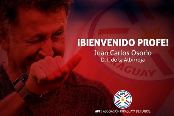 juan carlos osorio es nuevo tecnico de paraguay 1