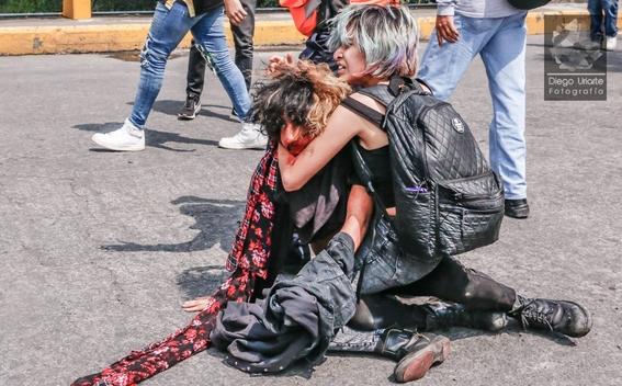 fotografias del enfrentamiento de ciudad universitaria 1
