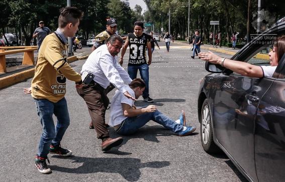 fotografias del enfrentamiento de ciudad universitaria 2