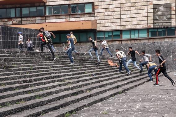fotografias del enfrentamiento de ciudad universitaria 3