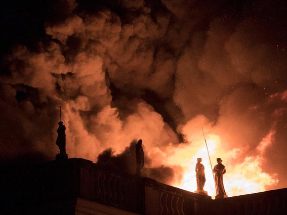incendio en el museo nacional de brasil 2