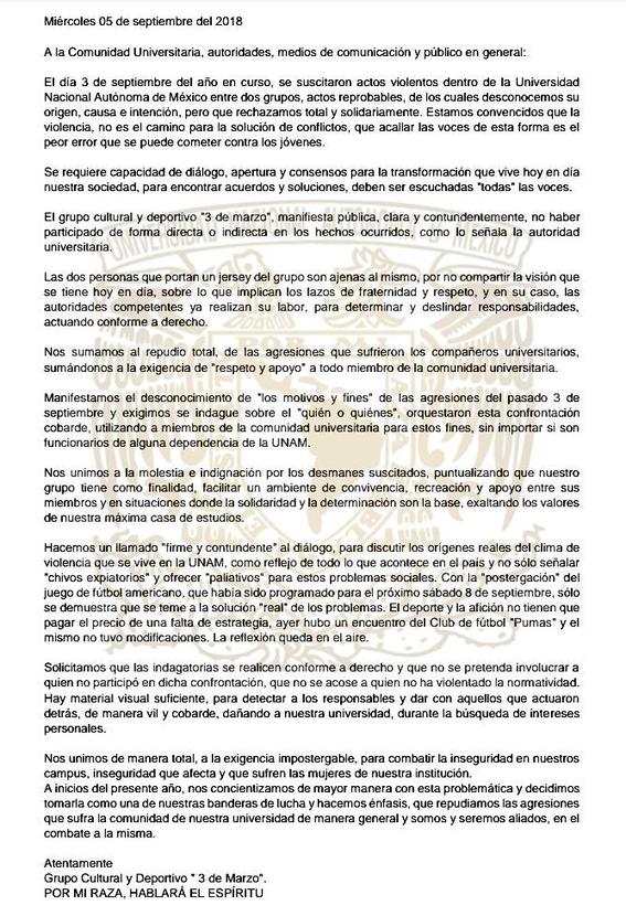 rector de la unam cu actos universitarios vandalicos porros unam rectoria de la unam porros 3