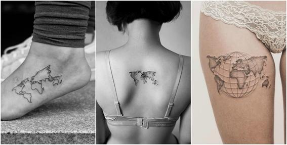 ideas de tatuajes para viajeros 1