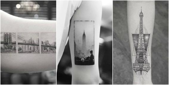 ideas de tatuajes para viajeros 4