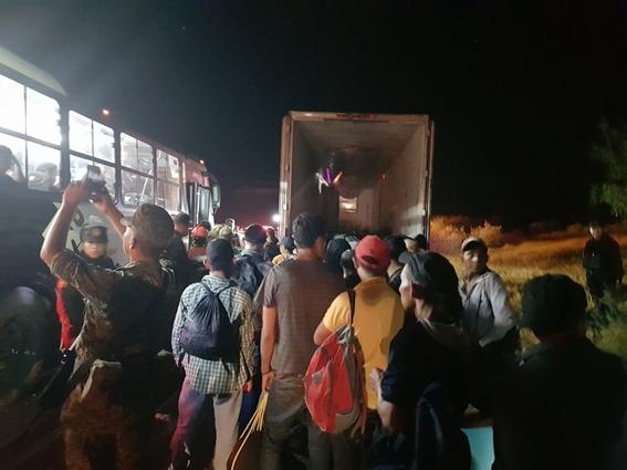 migrantes rescatados nuevo leon 1