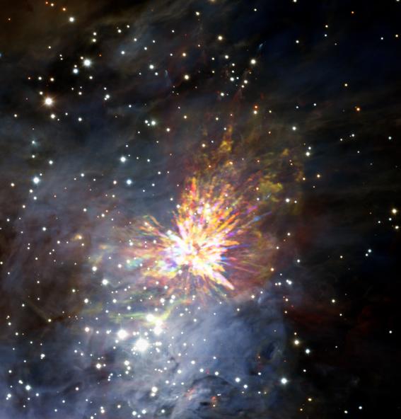 vientos galacticos regulan el nacimiento de las estrellas 2
