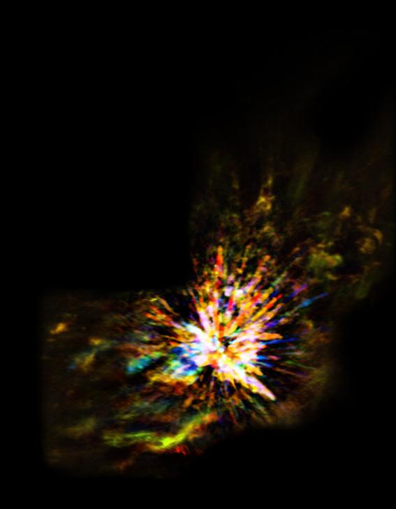 vientos galacticos regulan el nacimiento de las estrellas 3