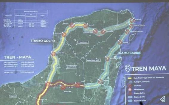 amlo y gobernadores haran proyecto tren maya en cuatro anos 2