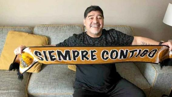 cuando sera debut de maradona con dorados en el futbol mexicano 1