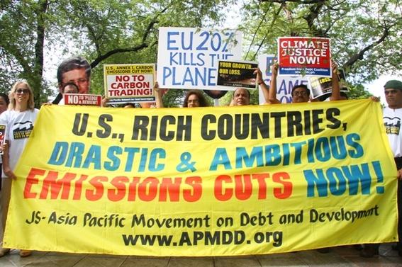 rise for climate manifestacion planetaria contra el cambio climatico 2