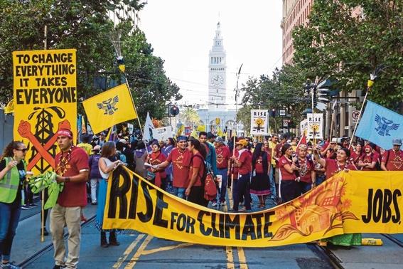 rise for climate manifestacion planetaria contra el cambio climatico 1