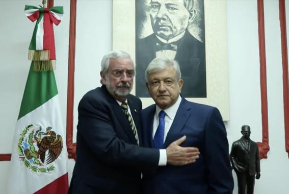 amlo se reune con el rector enrique graue unam 3