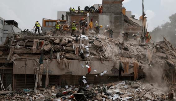 damnificados del terremoto del 19 de septiembre 2