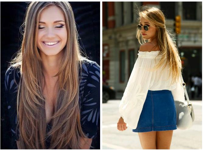 Estilos de corte para cabello largo