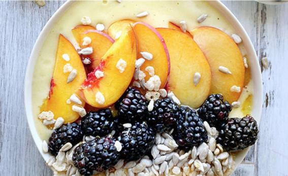 recetas de smoothie bowls para desayuno nutritivo 3