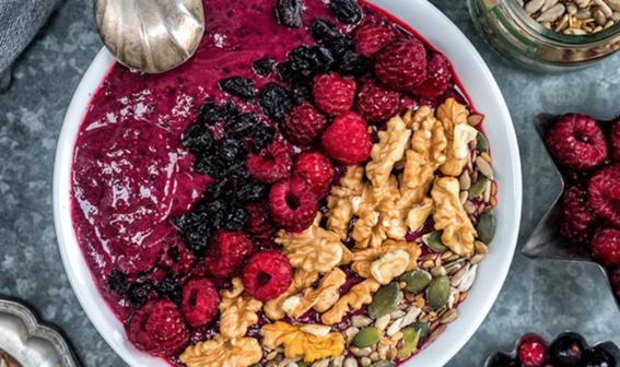 recetas de smoothie bowls para desayuno nutritivo 5