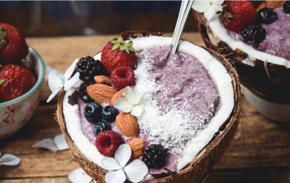recetas de smoothie bowls para desayuno nutritivo 6