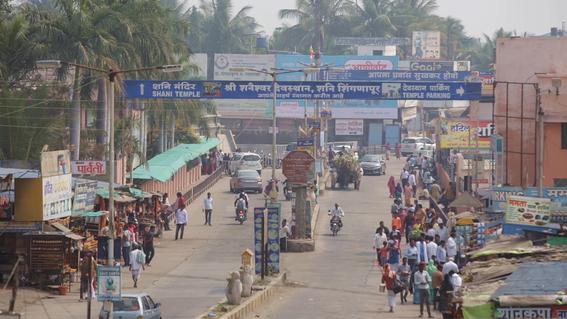 fotos de shani shingnapur en india donde no hay puertas 1