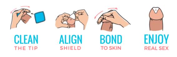 sellar el pene para no usar condon 2
