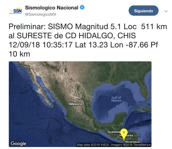 sismo 5 grados richter en chiapas 1