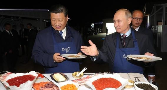 vladimir putin y xi jinping hacen pancakes 1